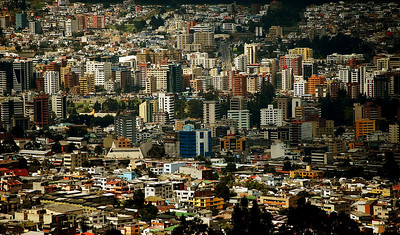 Architectures And Buildings of Quito, Ecuador.