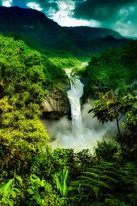 Cascada San Rafael, Ecuador's largest waterfall.
