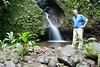 Small waterfalls at San Jorge de Milpe. This is during the dry season. Imagine how much water must flow during the wet season.