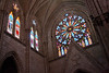 Another view of the stained glass.
