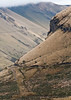 The steep valleys and start beauty on the western slope of the Andes near Papallacta Pass