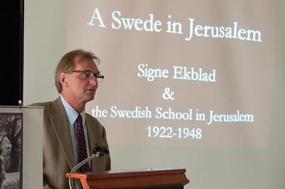 """""""A Swede in Jerusalem"""" Book Launch"""