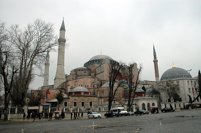 The St. Sophia Church, Istanbul, was a Christian Church, converted into a mosque hundreds of years ago.  Today it is being restored and is a museum.