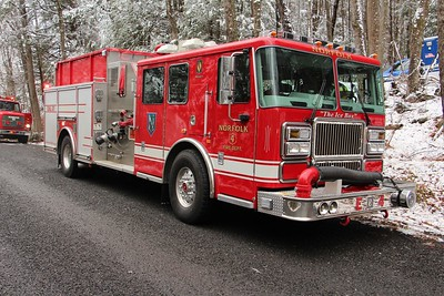 House Fire - Unknown Address, Norfolk, CT - Unknown Address