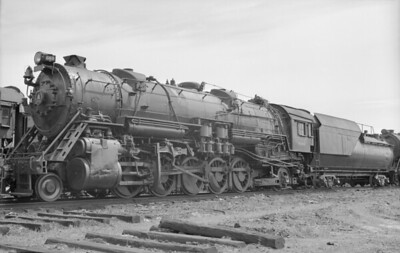 2018.15.N99D.7886--ed wilkommen 6x9 neg--B&O--steam locomotive 2-10-2 6160--location unknown--no date