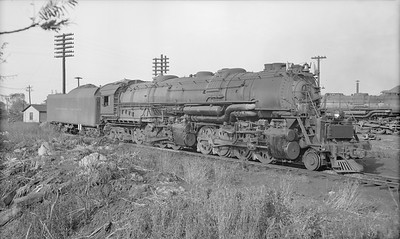 2018.15.N99D.7889--ed wilkommen 116 neg--B&O--steam locomotive 2-8-8-4 7600--Painesville OH--1954 1000
