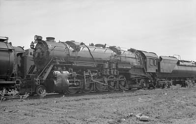 2018.15.N99D.7888--ed wilkommen 6x9 neg--B&O--steam locomotive 2-10-2 6208--location unknown--no date