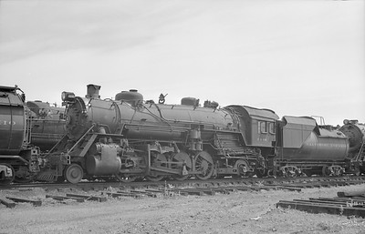 2018.15.N99D.7879--ed wilkommen 6x9 neg--B&O--steam locomotive 2-8-2 4448--location unknown--no date