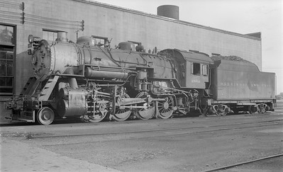 2018.15.N99D.7876--ed wilkommen 116 neg--B&O--steam locomotive 2-8-0 2864--location unknown--no date