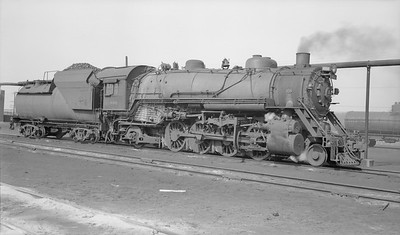 2018.15.N99D.7881--ed wilkommen 116 neg--B&O--steam locomotive 2-8-2 4611--location unknown--no date