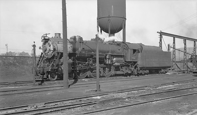 2018.15.N99D.7883--ed wilkommen 116 neg--B&O--steam locomotive 4-6-2 5300--Cumberland MD--1948 0329