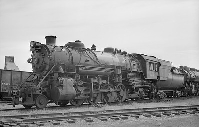 2018.15.N99D.7878--ed wilkommen 6x9 neg--B&O--steam locomotive 2-8-2 4400--location unknown--no date