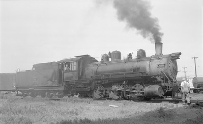 2018.15.N69.5458--ed wilkommen 116 neg--CB&Q--steam locomotive 0-6-0 G-10 589--Denver CO--1953 0709