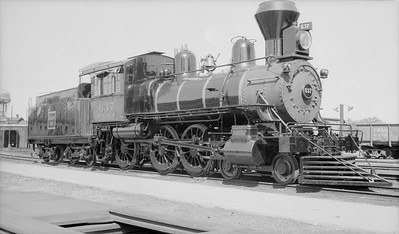 2018.15.N69.5458P--ed wilkommen 116 neg--CB&Q--steam locomotive 4-6-0 K-2 637--location unknown--no date
