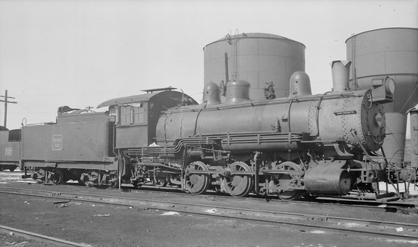 2018.15.N69.5457A--ed wilkommen 116 neg--CB&Q--steam locomotive 0-6-0 G-10 582--location unknown--no date