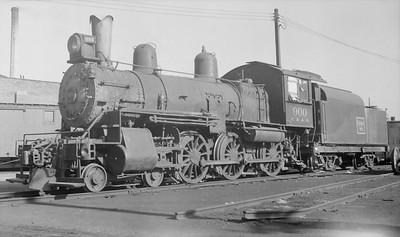 2018.15.N69.5458W--ed wilkommen 116 neg--CB&Q--steam locomotive 4-6-0 K-6 900--location unknown--no date