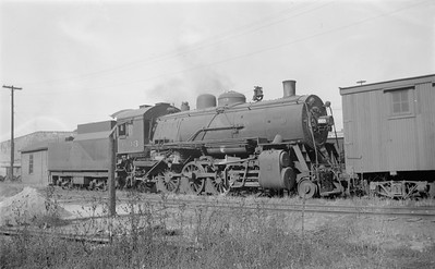 2018.15.N67A.3582--ed wilkommen 116 neg--CGW--steam locomotive 2-8-0 603--St Paul MN--1948 0526