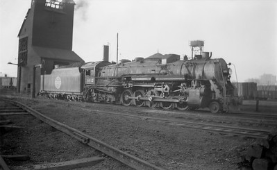 2018.15.N67A.3592--ed wilkommen 116 neg--CGW--steam locomotive 2-10-4 862--St Paul MN--1944 1112