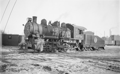 2018.15.N67A.3577--ed wilkommen 116 neg--CGW--steam locomotive 0-6-0 473--Minneapolis MN--1945 0211