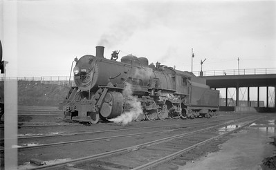 2018.15.N67A.3583--ed wilkommen 116 neg--CGW--steam locomotive 2-8-0 608--St Paul MN--1946 0303