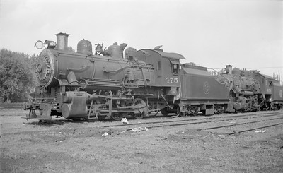2018.15.N67A.3579--ed wilkommen 116 neg--CGW--steam locomotive 0-6-0 475--Minneapolis MN--1949 0405