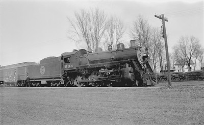 2018.15.N67A.3580--ed wilkommen 116 neg--CGW--steam locomotive 4-6-0 504--Manly IA--no date