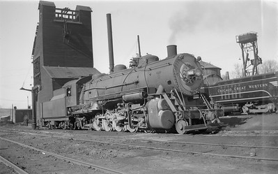 2018.15.N67A.3591--ed wilkommen 116 neg--CGW--steam locomotive 2-10-2 800--St Paul MN--1946 0223