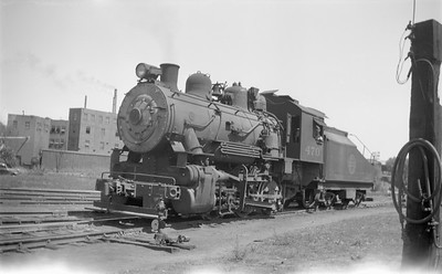 2018.15.N67A.3576--ed wilkommen 116 neg--CGW--steam locomotive 0-6-0 470--Minneapolis MN--1946 0817