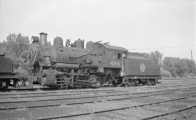 2018.15.N67A.3578--ed wilkommen 116 neg--CGW--steam locomotive 0-6-0 474--Minneapolis MN--1949 0705