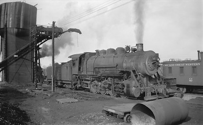 2018.15.N67A.3568--ed wilkommen 116 neg--CGW--steam locomotive 0-8-0 17--South St Paul MN--1946 0303