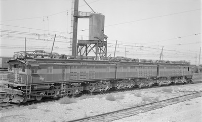2018.15.N68D.4891--ed wilkommen 116 neg--CMStP&P--electric locomotive E-25--Othello WA--1965 0902