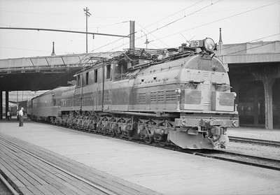 2018.15.N68D.4872--ed wilkommen 6x9 neg--CMStP&P--electric locomotive E-3--Seattle WA--no date
