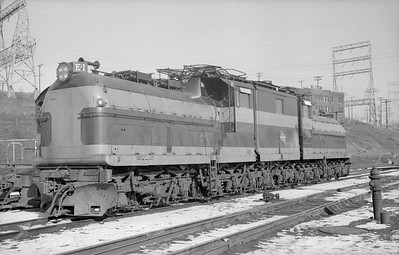 2018.15.N68D.4863--ed wilkommen 6x9 neg--CMStP&P--electric locomotive E-1--Milwaukee WI--1956 0204