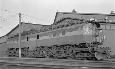 2018.15.N68D.4881--ed wilkommen 116 neg--CMStP&P--electric locomotive E-14--Deer Lodge MT--1952 0906