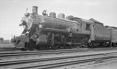 2018.15.N83.6335M--ed wilkommen 116 neg--CP--steam locomotive 4-6-0 D10H 1000--location unknown--no date