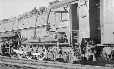 2018.15.N61B.2022--ed wilkommen 116 neg--DM&IR--steam locomotive M4 2-8-8-4 231 detail--location unknown--no date