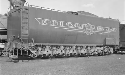 2018.15.N61B.2030--ed wilkommen 116 neg--DM&IR--steam locomotive M4 2-8-8-4 235 tender--location unknown--no date