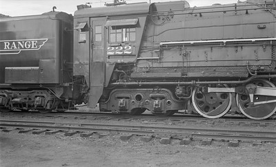 2018.15.N61B.2029--ed wilkommen 116 neg--DM&IR--steam locomotive M3 2-8-8-4 222 detail--location unknown--no date