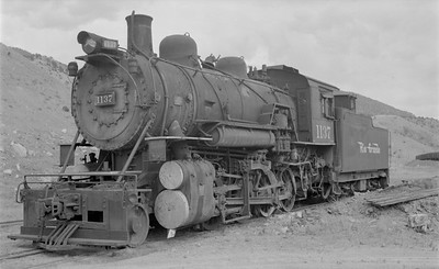 2018.15.N73.5764--ed wilkommen 116 neg--D&RGW--steam locomotive 2-8-0 C-48 1137--Salida CO--1952 0900