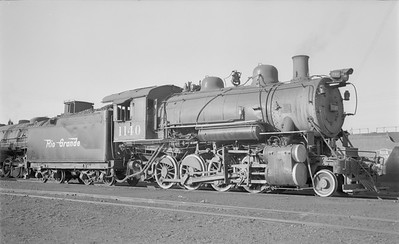 2018.15.N73.5766--ed wilkommen 116 neg--D&RGW--steam locomotive 2-8-0 C-48 1140--Denver CO--1950 0727