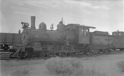 2018.15.N49K.5941--ed wilkommen 116 neg--RGS--steam locomotive 4-6-0 20--Alamosa CO--no date