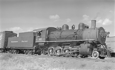 2018.15.N72.5640--ed wilkommen 116 neg--NP--steam locomotive 2-8-0 Y 41--Butte MT--1952 0908