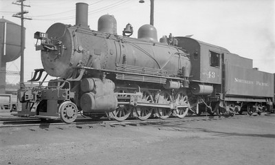 2018.15.N72.5642--ed wilkommen 116 neg--NP--steam locomotive 2-8-0 Y 43--Brainerd MN--no date