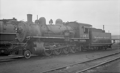 2018.15.N72.5639--ed wilkommen 116 neg--NP--steam locomotive 2-8-0 Y 35--Yakima WA--1954 0612