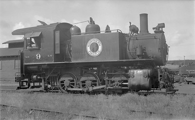 2018.15.N72.5637--ed wilkommen 116 neg--NP--steam locomotive 0-6-0 L-6 9--Tacoma WA--1952 0909