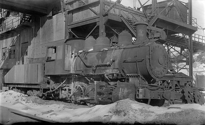 2018.15.N64.2588--ed wilkommen 116 neg--Consumers Company--steam locomotive 0-6-0--Cary IL--1954 0100