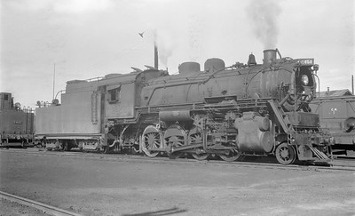2018.15.N64.2664--ed wilkommen 116 neg--Duluth Winnipeg & Pacific--steam locomotive 2-8-0 2458--Virginia MN--no date