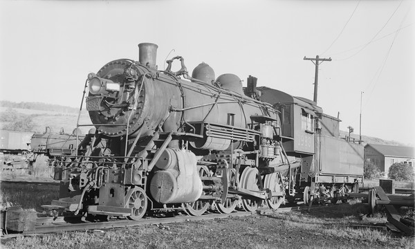 2018.15.N64.2656--ed wilkommen 116 neg--Duluth Winnipeg & Pacific--steam locomotive 2-8-0 1983--West Duluth MN--1956 1005