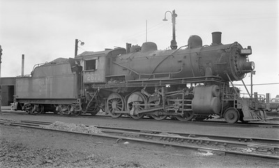 2018.15.N64.2669--ed wilkommen 116 neg--Duluth Winnipeg & Pacific--steam locomotive 2-8-0 2671--Virginia MN--no date