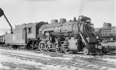 2018.15.N64.2660--ed wilkommen 116 neg--Duluth Winnipeg & Pacific--steam locomotive 2-8-0 2456--West Duluth MN--no date